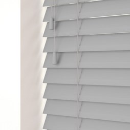 Mission Fine Grain Faux Wood Venetian Blind