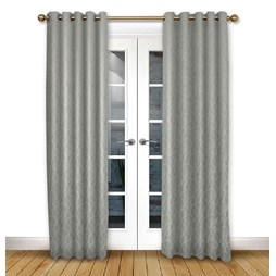Mistral Flint Eyelet Curtains