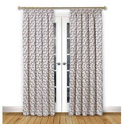 Prism Violet Pencil Pleat Curtains
