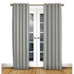 Serenity Flint Eyelet Curtains
