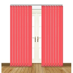 Splash Flamingo Vertical Blind