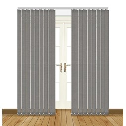 Splash Flint Vertical Blind