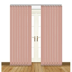 Splash Hint Vertical Blind