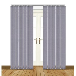 Splash Sloe Vertical Blind