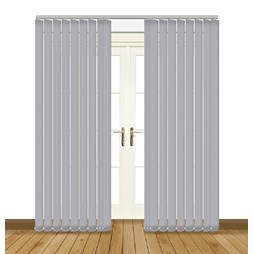 Splash Vellum Vertical Blind