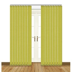 Splash Vine Vertical Blind