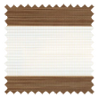 Florence Teak Vision Blind | Order Brown Day & Night Online