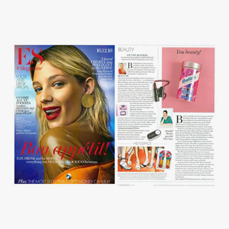 29. es magazine 16.12.16 on the soap box beauty feature