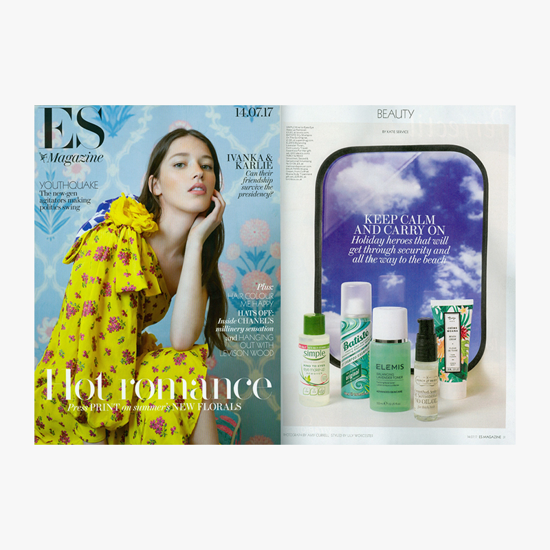 Es magazine batiste 14 july spread completed