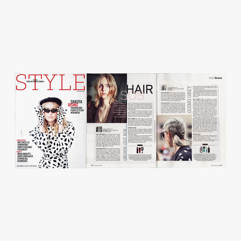 Sunday times style. 8th april 2018