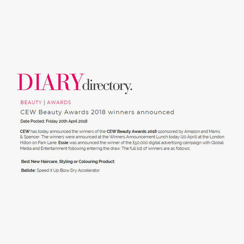 Diary directory 20th april