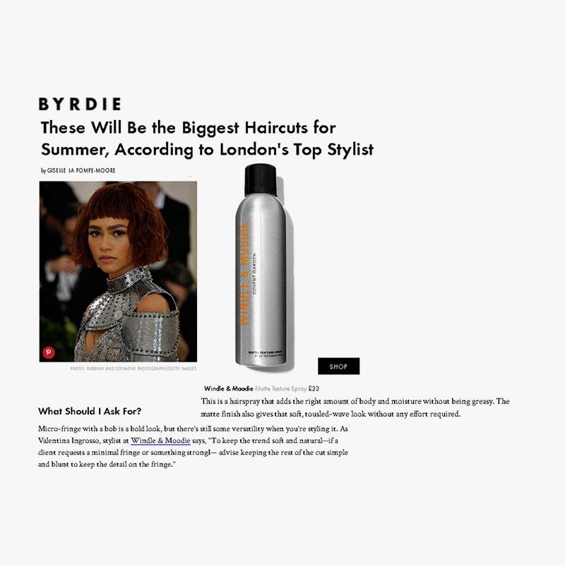 Byrdie 20th june