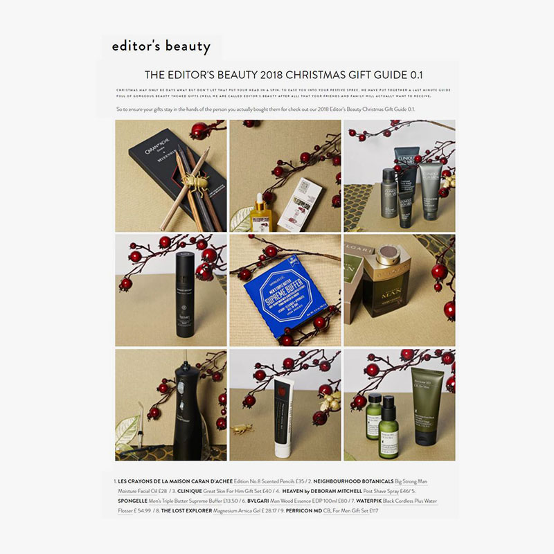 Editors beauty 10th december