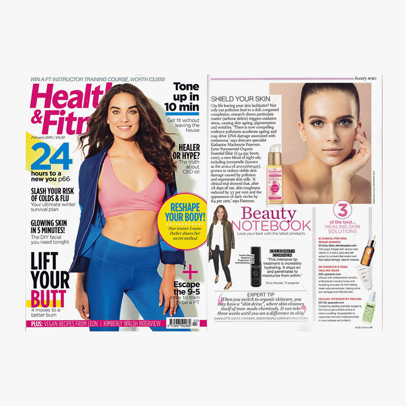 Health and fitness feb 2019