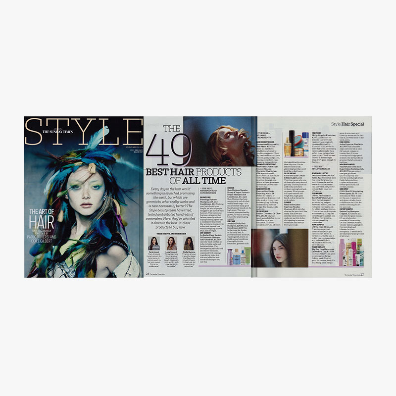 The sunday times style 3rd november batiste