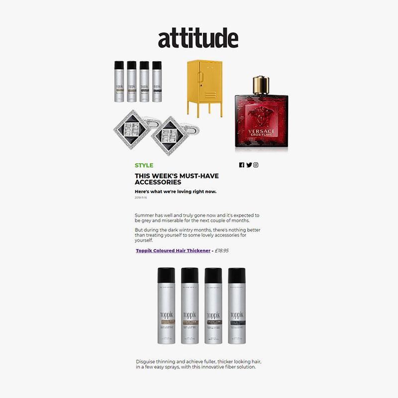 Attitude.com 15th november toppik