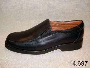 Zapato caballero de piel