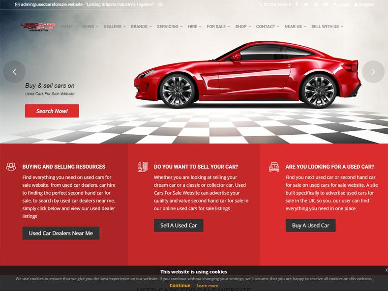 Used Cars For Sale Website