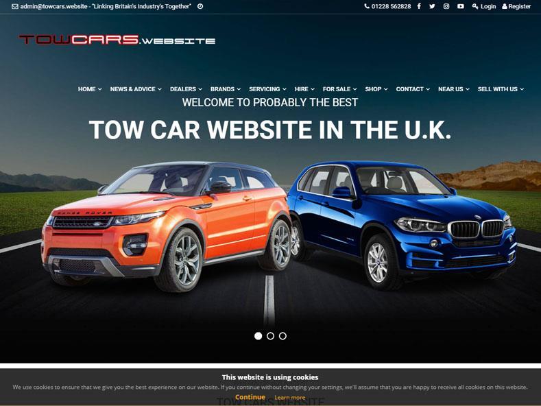 Towcars Website
