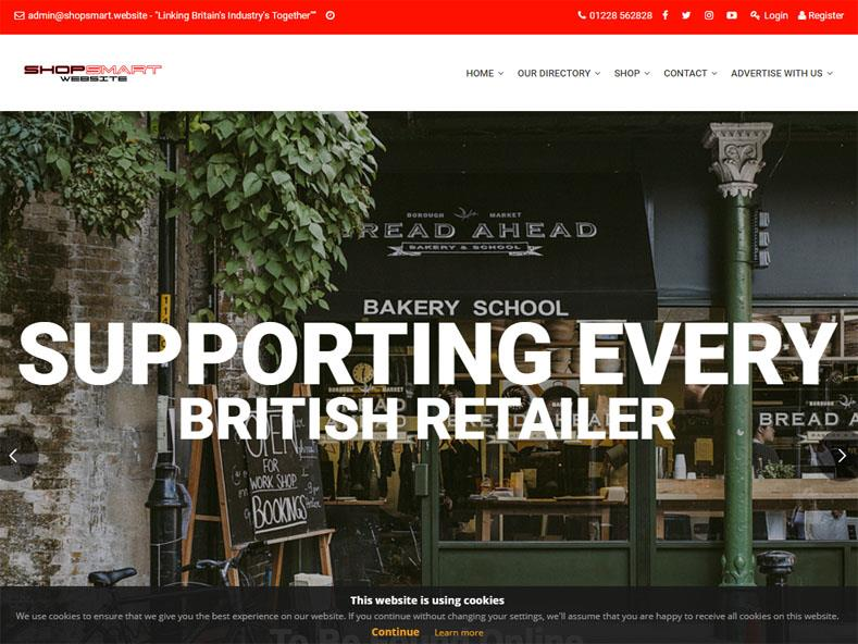 Shop Smart Website