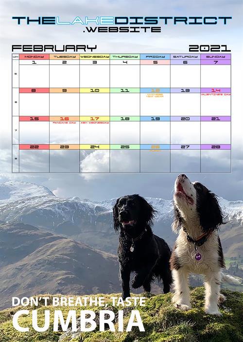 The Lake District Website 2021 Calendar