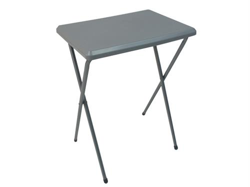 Fleetwood high plastic table in grey