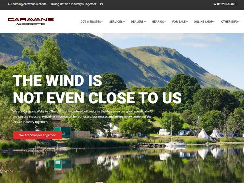 Caravans Website