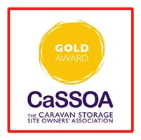 CaSSOA GOLD AWARD FOR CARAVAN STORAGE