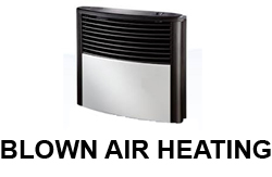 Blown Air Heating