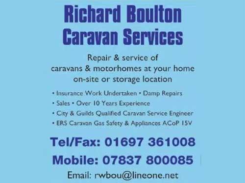 Richard Boulton Caravan Services