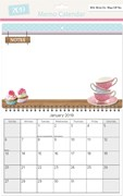 Memo Board Calendars