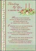 Christmas Memorial Cards
