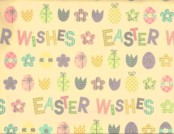 Easter Gift Wrapping Paper