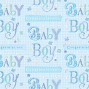New Baby Gift Wrapping Paper