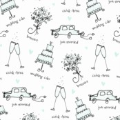Engagement & Wedding Gift Wrapping Paper