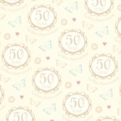 Wedding Anniversary Gift Wrapping Paper