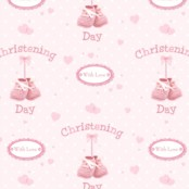 Christening Gift Wrapping Paper