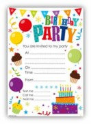 Party Invitations & Thank You Cards
