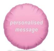 Personalised Helium Balloons