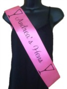 Personalised Party Sashes for All Occasions