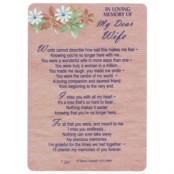 Relations Memorial Cards