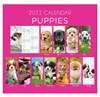 2022 Spiral Bound Wiro Flip Desk Top Dog Photo Calendar - Cute Puppies