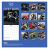 2020 Square Month To View Photo Wall Calendar - Motorbike Super Bikes