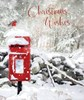 2 x Box Of 24 Winter Scenic Luxury Christmas Cards - 2 Designs Per Pack - Robins