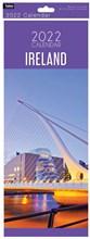 2022 Slim Month To View Spiral Ireland Wall Calendar - Beckett Bridge on Front