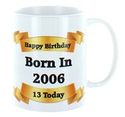 2020 13th Birthday White 11oz Ceramic Mug & Gift Box - 2007 Was A Special Year