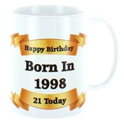 2020 21st Birthday White 11oz Ceramic Mug & Gift Box - 1999 Was A Special Year