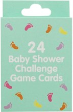 Pack of 24 Baby Shower Challenge Game Cards