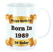 2020 30th Birthday White 11oz Ceramic Mug & Gift Box - 1990 Was A Special Year