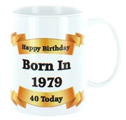 2020 40th Birthday White 11oz Ceramic Mug & Gift Box - 1980 Was A Special Year